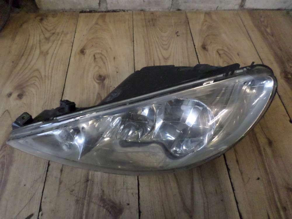 Original Peugeot 206 Scheinwerfer Vorne Links 9628666880