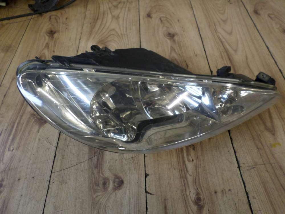 Original Peugeot 206 Scheinwerfer Vorne Rechts 9628666780