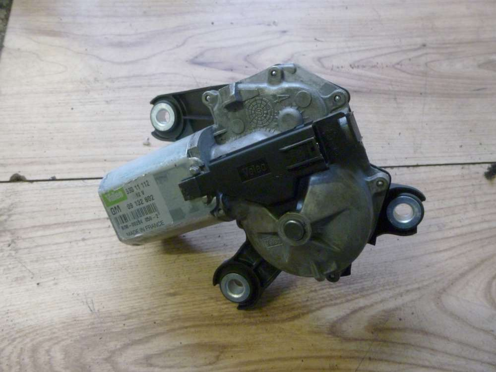 Opel Corsa C Bj:02 Wischermotor Hinten 09132802 53011112