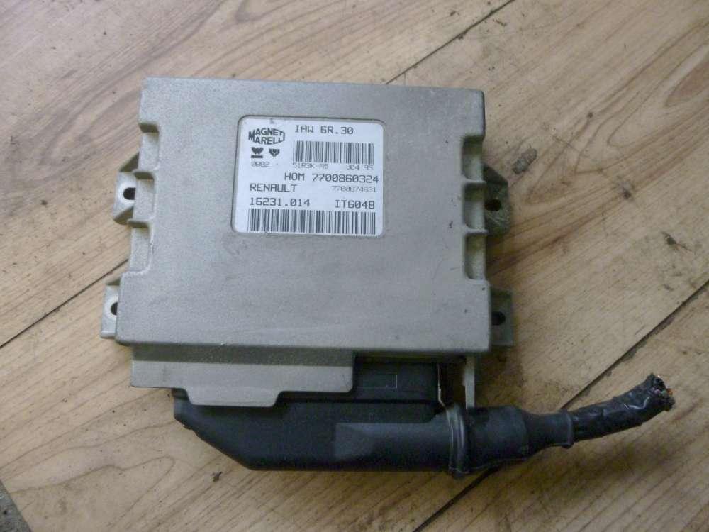 Original Renault Twingo Motorsteuergerät  7700860324