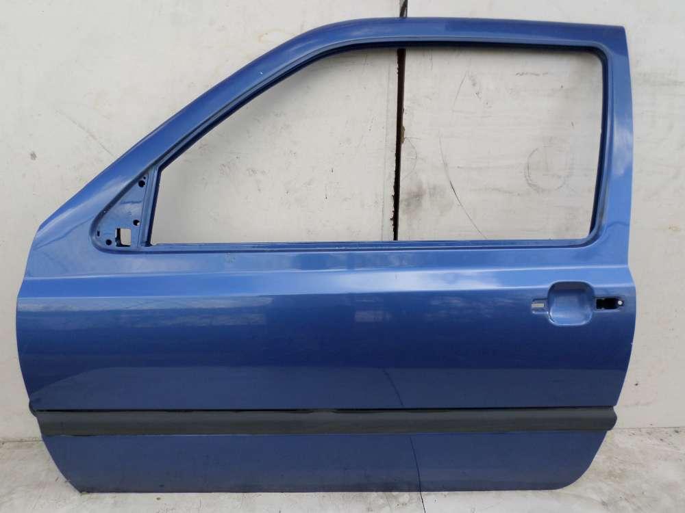 VW Golf 3 von 1991 bis 1998 3-türen Fahrertür Tür Vorne Links Dunkelblau
