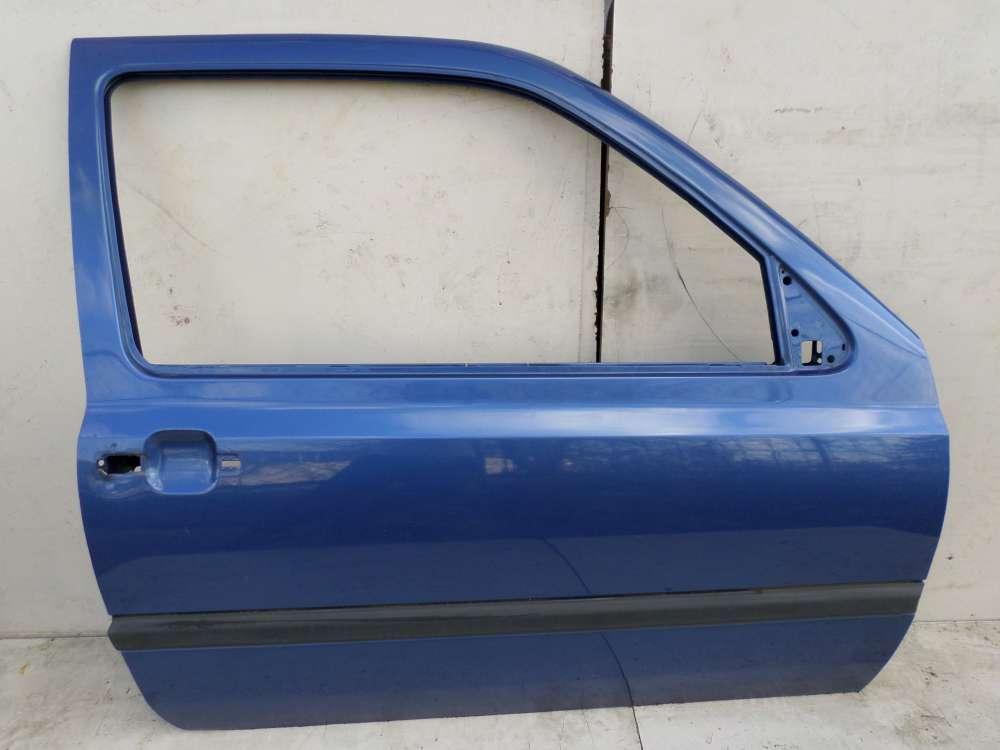 VW Golf 3 von 1991 bis 1998 3-türen Beifahrertür Tür Vorne Rechts Farbe: Dunkelblau