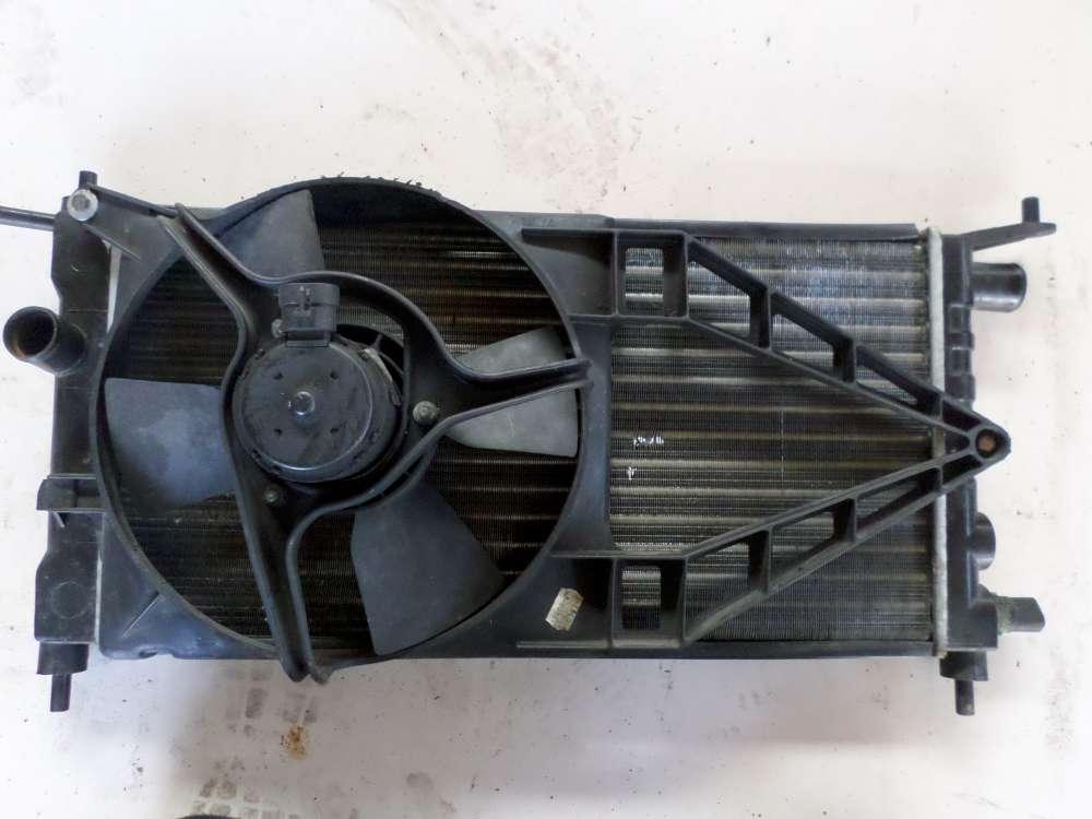 OPEL Corsa B Bj.1998 Kühler Wasserkühler mit Elektrolüfter