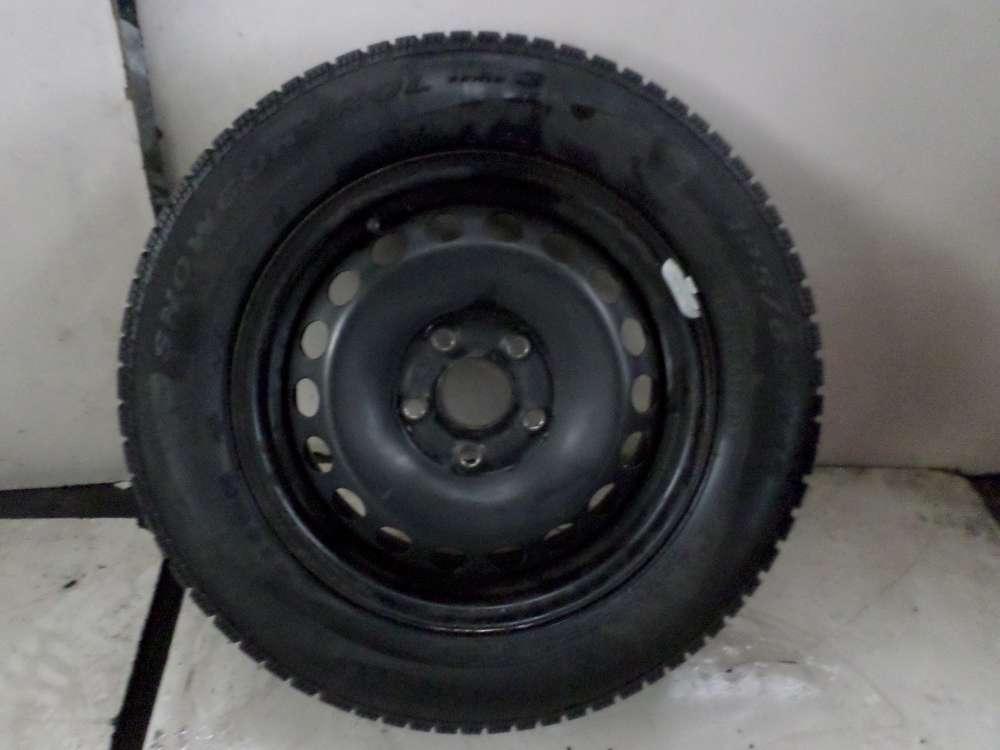 1x Winterreife VW , Audi , Seat , Skoda 195/65R15 91T , 6Jx15H2 ET47   KBA43929