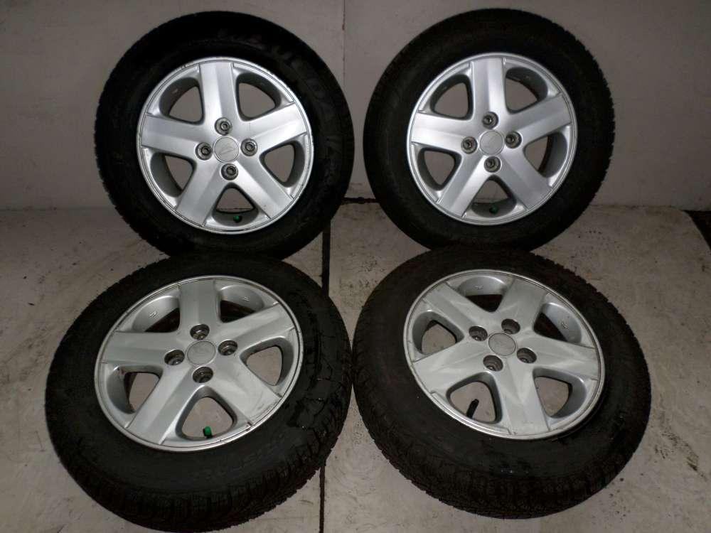 4x Alufelgen mit Reifen Daihatsu YRV  5Jx14 165/70R14