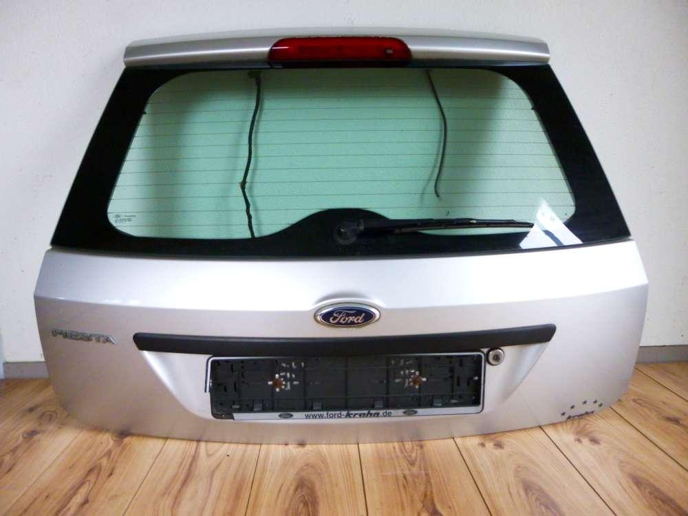 Ford Fiesta Bj 2003 Heckklappe 3-türer  Polar-Silber Metallic