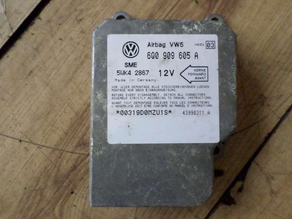Original VW Golf Polo Airbag Steuergerät Airbag Steuer 6Q0909605A
