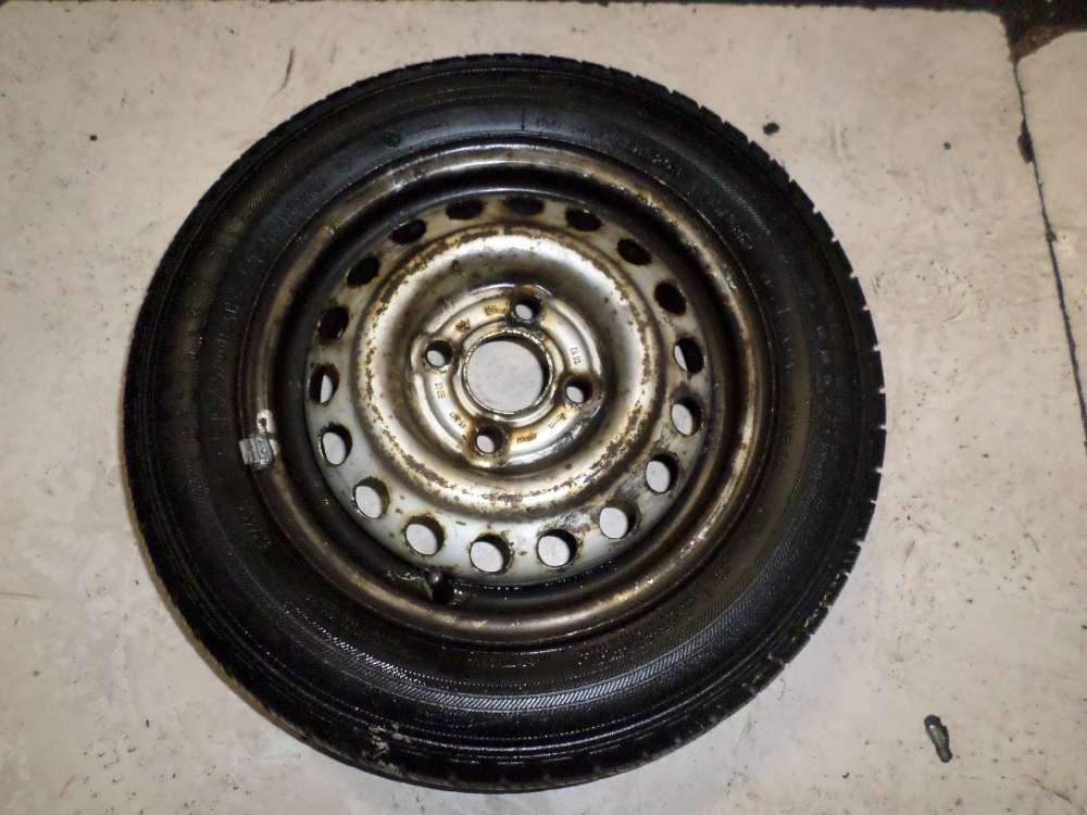 1 x Stahlfelge mit Wintrreife für Opel Corsa B 155/70 R13 75T 4.5Jx13 ET:49
