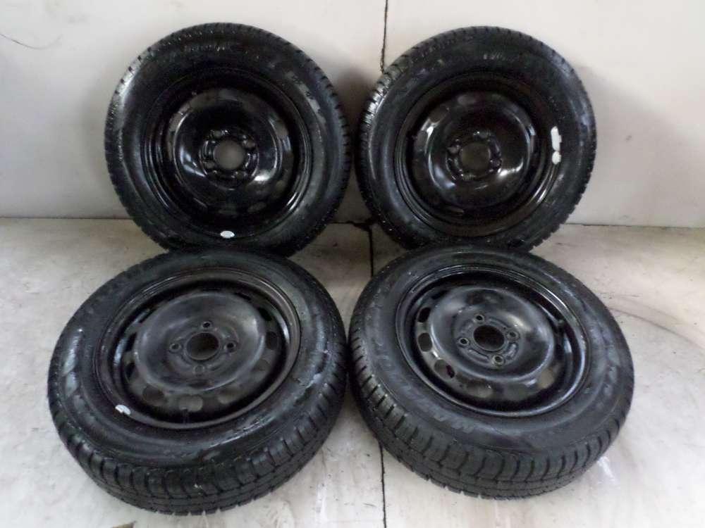4x Winterreifen Stahlfelgen für Ford 5.5Jx14 ET:47.5 175/65 R14 82H 4Loch