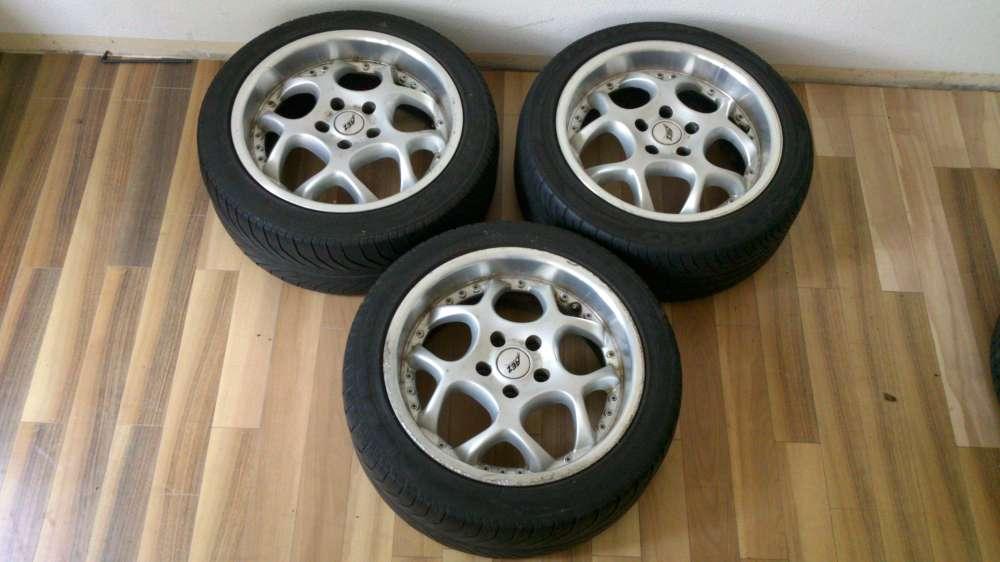3x Alufelgen Sommerreifen 8J x17 ET:35 Reifen :225/45 ZR17 (91W-94Y) Audi / VW