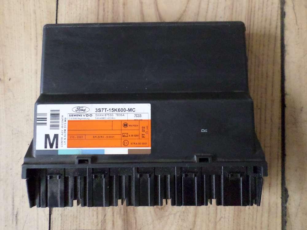 Ford Mondeo 3 III Bj 2007 Komfortsteuergerät Zentralverriegelung Steuergerät 3S7T-15K600-MC