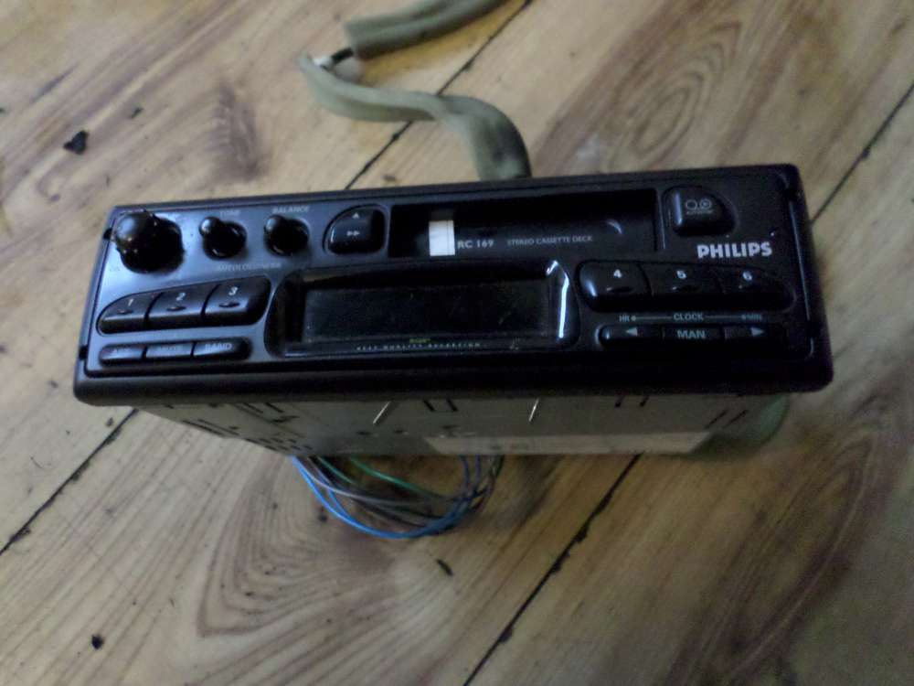 Philips Autoradio Radio Kassette 79RC169