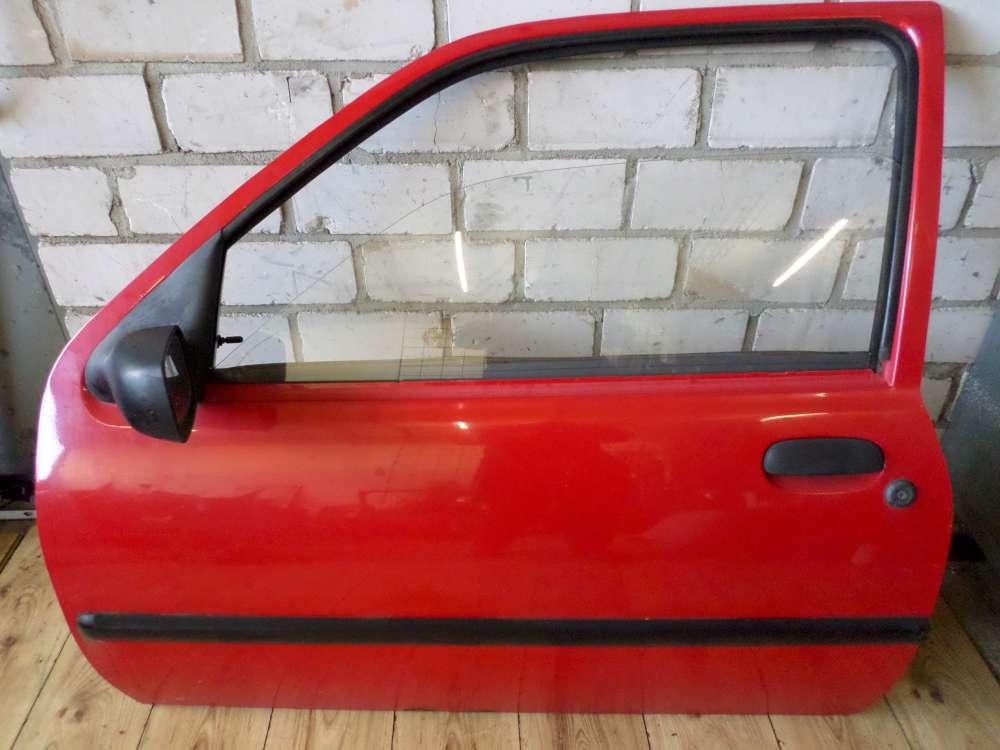 Mazda 121 3-Türen Tür Vorne Links Fahrerseite Rot Farbcode: JBSM