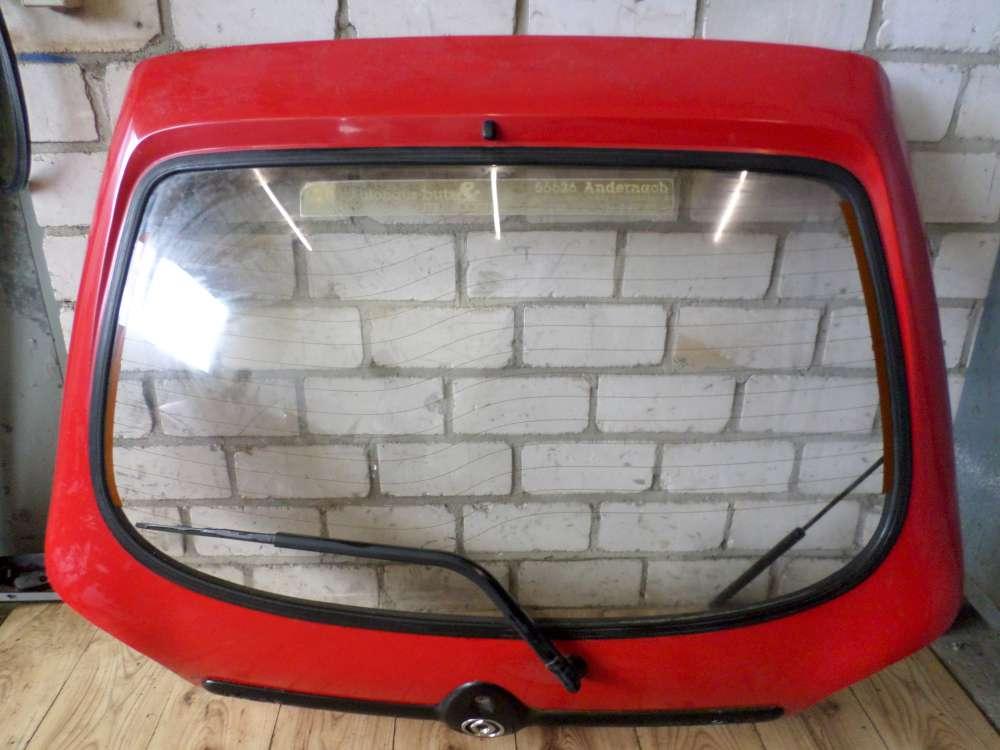 Mazda 121 JASM, JBSM 3 Türen Heckklappe Rot Farbcode : JBSM