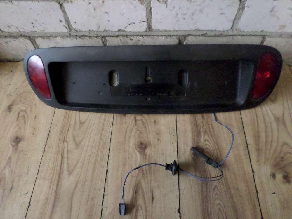 Original Renault Megane Scenic Kennzeichenhalter 7711170346